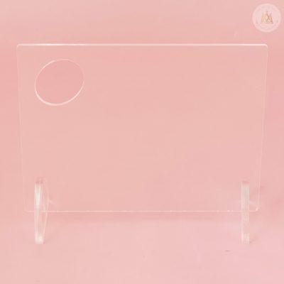 Paleta Mezcladora transparente