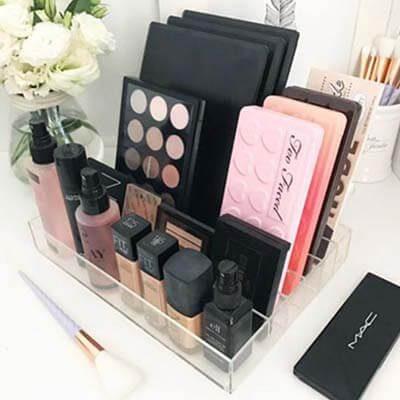 Charola de maquillaje para Paletas