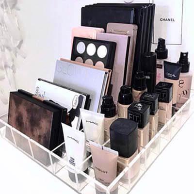 Charola Paletas y Maquillaje