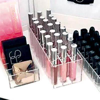 Porta Gloss maquillaje 24