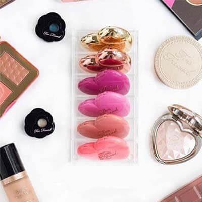 Porta Polvo de maquillaje