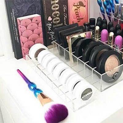 Porta Sombra de maquillaje