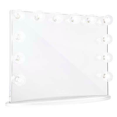 Espejo Grande marco blanco