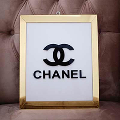 Cuadro acrílico Chanel
