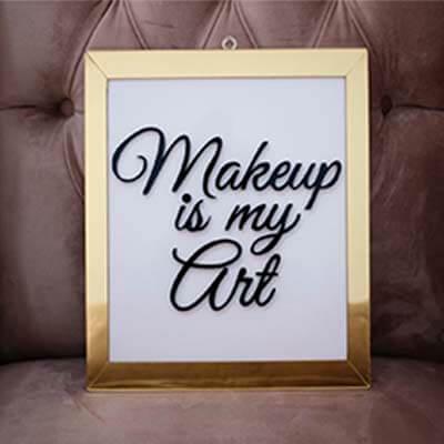 Cuadro acrilico Makeup
