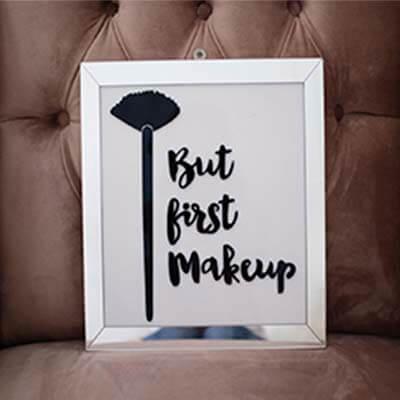 Cuadro acrilico First Makeup