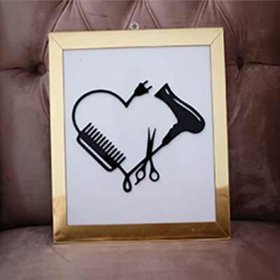 Cuadro acrilico Heart