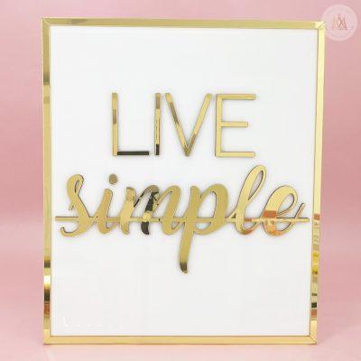 Cuadro Live Simple