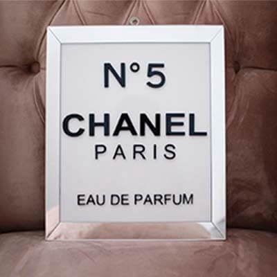 Cuadro acrílico Chanel Paris