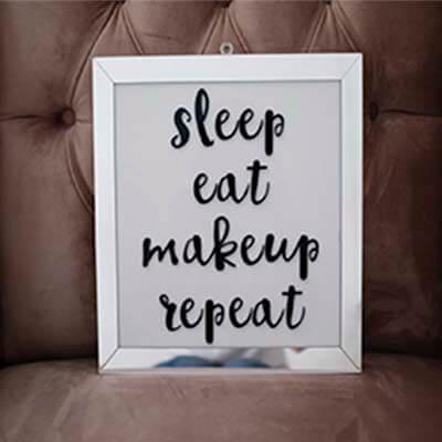 Cuadro acrilico sleep
