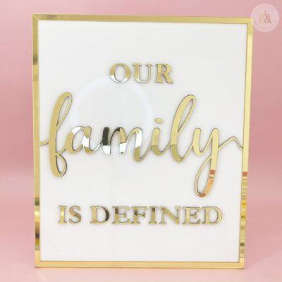 Cuadro Family Love 1