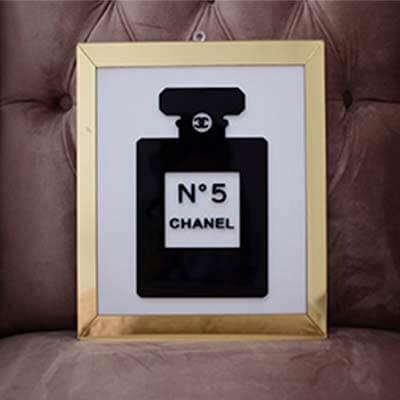 Cuadro acrilico Chanel Perfume