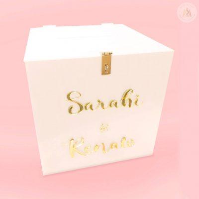 Caja de sobres marmol