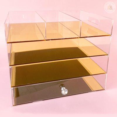 Organizador dorado