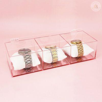 Relojero acrilico 3 piezas