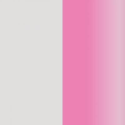 Transparente/rosa efecto espejo